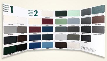 PVC Window Colour Palette