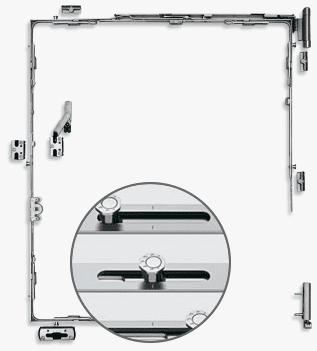 Octagonal locking pin