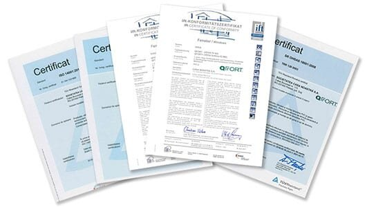 QFORT Certifications